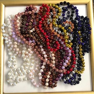 NWOT Silk Wrapped Beads